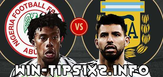 Match Preview: Nigeria 1-2 Argentina Tips and Predictions for Today June 26